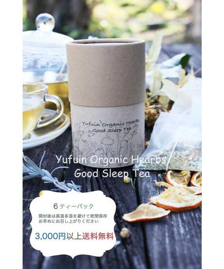 Yufuin Organic Hearbs  Good  Sleep  Tea                 【 オーガニックハーブ グッドスリープティ】6ティーパック