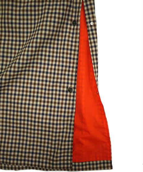 SAMPLE SALE JieDa CHECK OVER COAT (GUN) Jie-20S-JK01