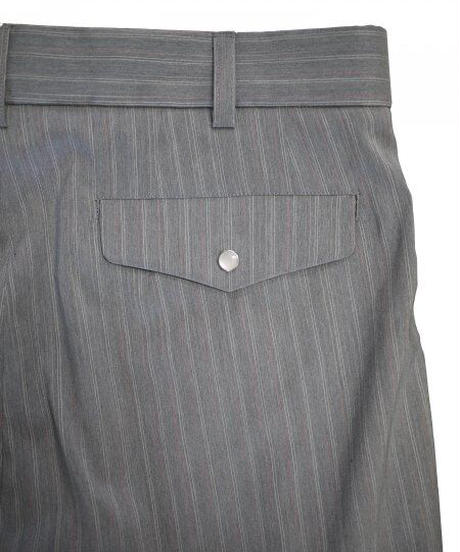JieDa 2TUCK TAPERED PANTS (GRY) Jie-21S-PT04-A