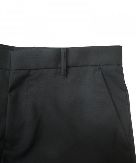JieDa SLIT SLIM FLARE PANTS (BLK) Jie-21S-PT03-B