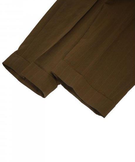 JieDa RAYON 2TUCK TAPERED PANTS (KHA) Jie-21S-PT04-B