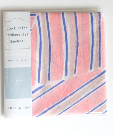 stripe triangle バンダナ