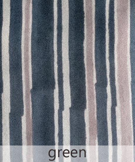 mix stripe コットンカディロングワンピース