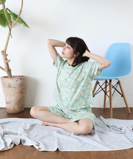 カディパジャマ パンツショート/Bell flower