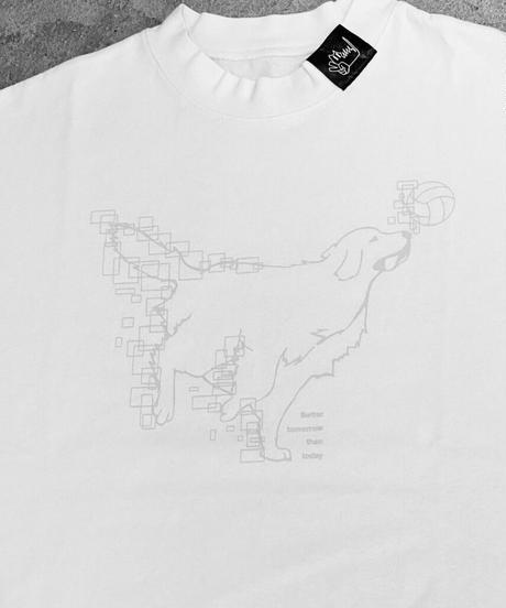 <遊馬晃祐さんコラボ>オリジナルロゴビッグTシャツ ホワイト