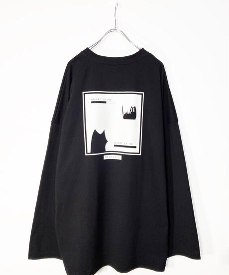 ゲームプリントTシャツ ブラック