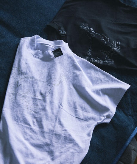<遊馬晃祐さんコラボ>オリジナルロゴビッグTシャツ ブラック