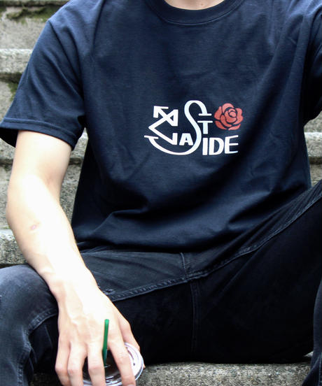 ROSE1 T-SHIRT BLACK