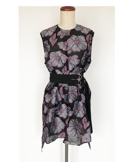 T-07 Rose of Sharon Long top