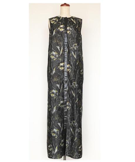 D-02/01 Film Flower Sleeveless Dress