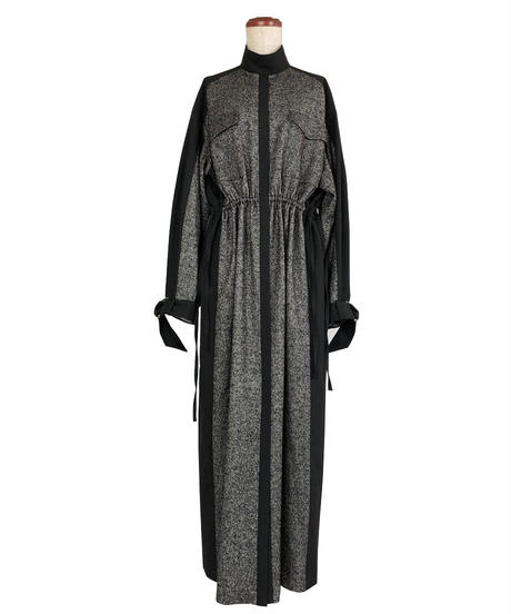 D-01/01 Wool Long Dress