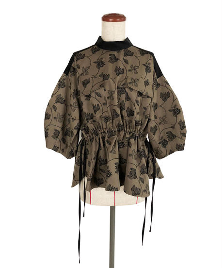 T-02 Flower Embroidery Blouse