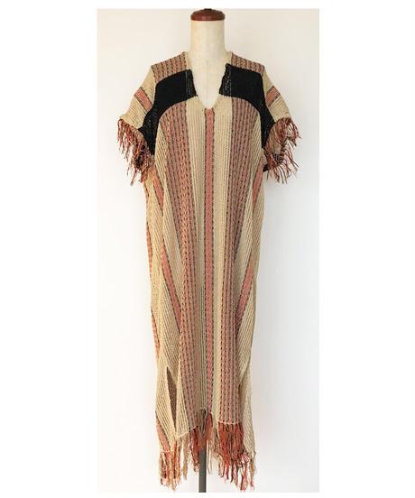 D-04 Stripe Knit Dress