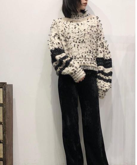 T-05 Mix yarn Knit top