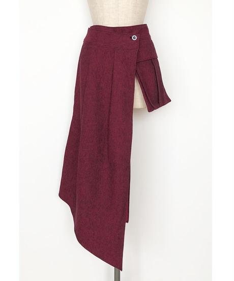 B-01/01 Cotton Linen Wrap Belt