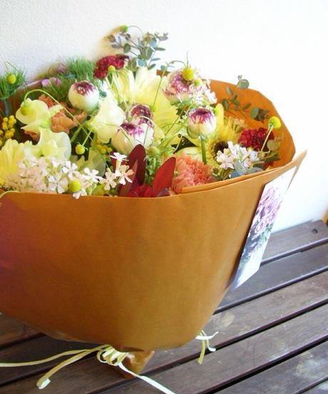 季節のおまかせ花束  @5500