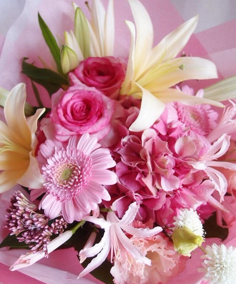 季節のおまかせ花束  @16500