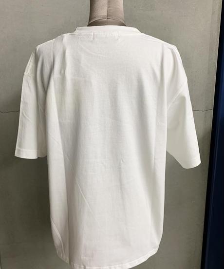 【3L】おはようTシャツ(オフ)