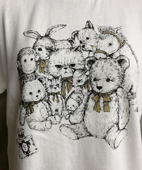 【M】サークルスーちゃんTシャツ(オフ)
