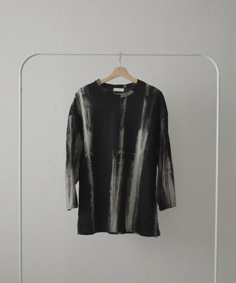 tops-02208 TIE DYEING LONG T-SHIRT