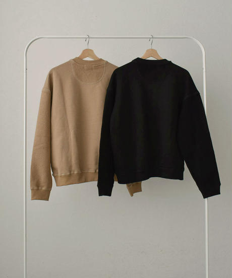 tops-02191 SWITCHING SWEAT PULLOVER