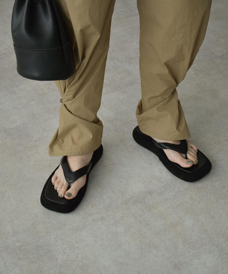 shoes-02137 PLATFORM TONG SANDALS