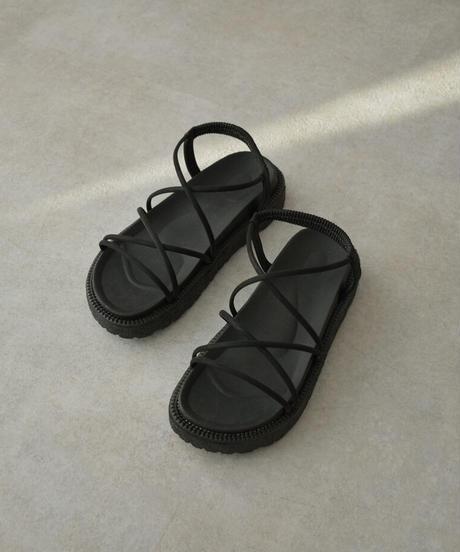 shoes-02132  CORD STRAP SANDALS