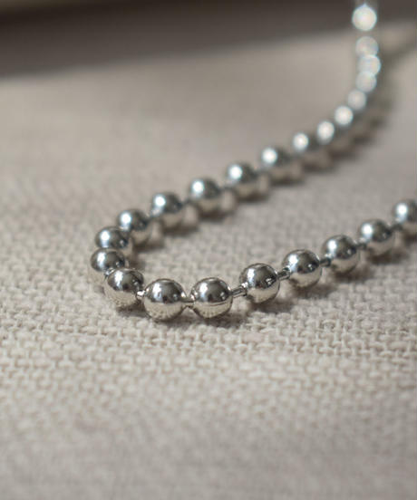 necklace2-02034 WA04 JAPAN MADE BALL CHAIN NECKLACE 4MM BALL LONG TYPE