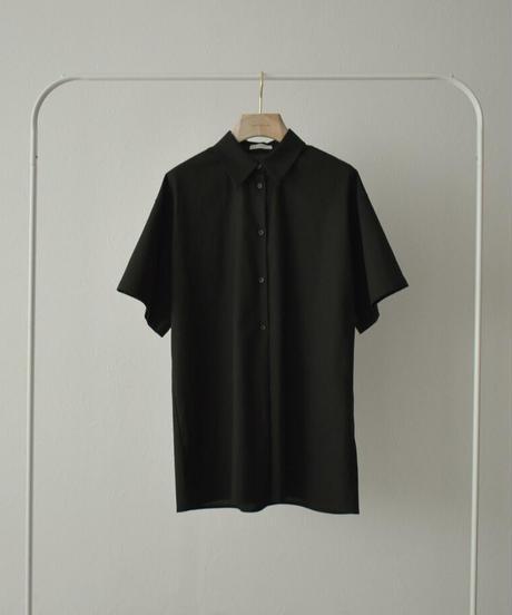 tops-02247  LINEN MIXED BOYFRIEND SHIRT