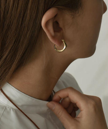 pierce2-02417 NUANCE HOOP EARRINGS