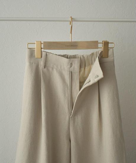 bottoms-07007 LINEN MIXED COCOON PANTS