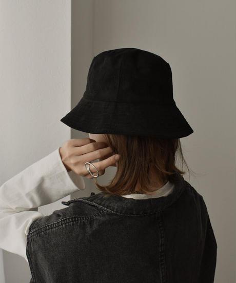 cap-02032 REVERSIBLE SUEDE BUCKET HAT