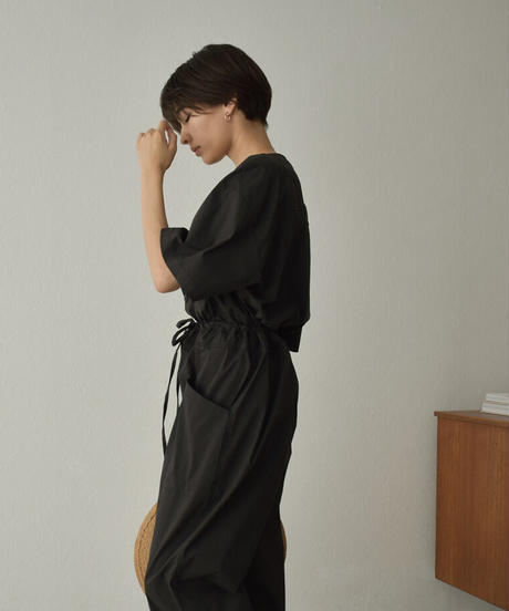 onepiece-02032 COLORLESS JUMPSUIT