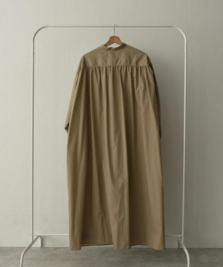 onepiece-04043 MADE IN JAPAN VOLUME SLEEVE KAFTAN DRESS