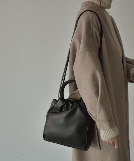 bag2-02533 ROUND HANDLE SHOULDER BAG