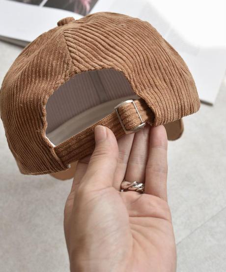 cap-02017 CORDUROY CAP