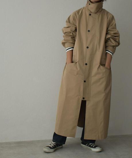 coat-13001 WATER REPELLENT FABRIC SOUTIEN COLLER COAT