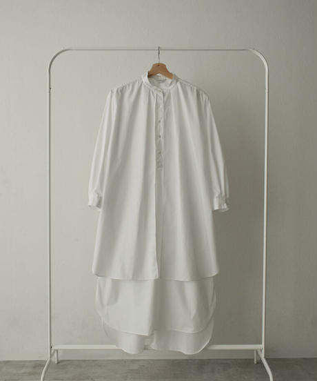 onepiece-04039 MADE IN JAPAN TUCK LAYER SHIRT DRESS