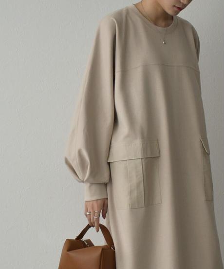 onepiece-04053 MADE IN JAPAN BIG POCKET DRESS