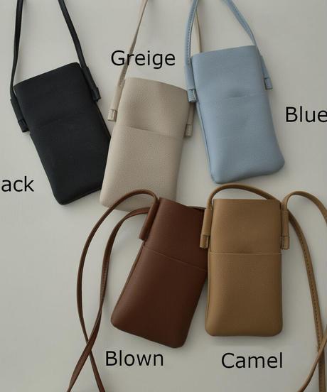 bag2-02568 ECO LEATHER MINI POUCH