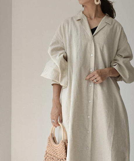 onepiece-04001 MADE IN JAPAN LONG SHIRT DRESS