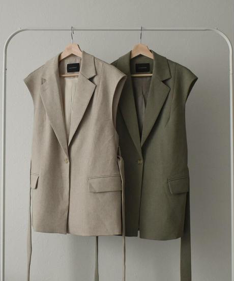 jacket-02002 TAILORED BOX VEST