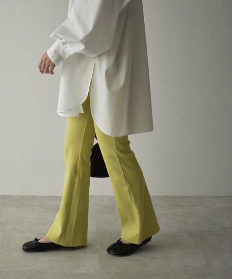 bottoms-07006 RIB FLARE PANTS
