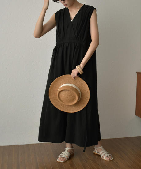 onepiece-02031 CACHE-COEUR GATHERED DRESS