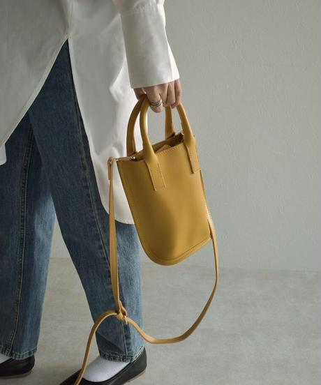 bag2-02559 ECO LEATHER 2WAY SHOULDER BAG