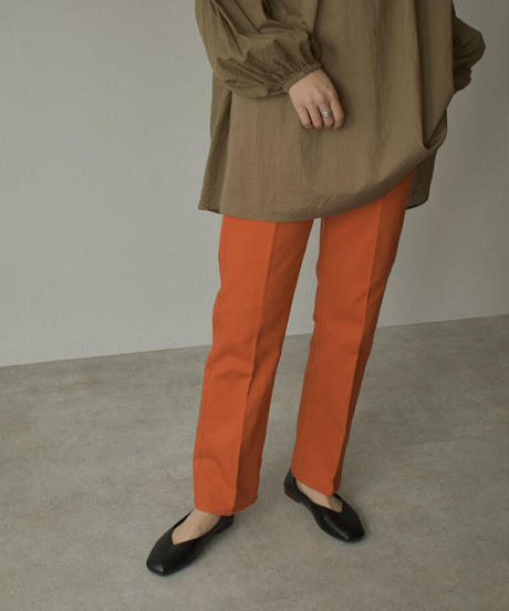 bottoms-04042 MADE IN JAPAN COLOR TUCK PANTS