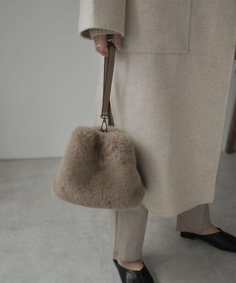 bag2-02534 TRIANGLE ECO FUR BAG