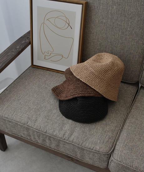 cap-02029 STRAW BUCKET HAT