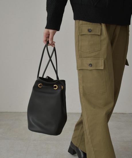 bag2-02538 ECO LEATHER 3WAY DRAWSTRING BAG