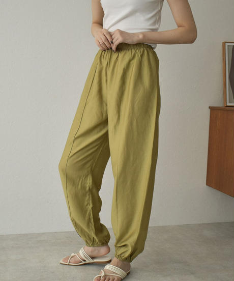 bottoms-02120 SATIN EASY PANTS